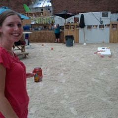 Photo taken at New York Avenue Beach Bar by Patrick F. on 7/24/2012