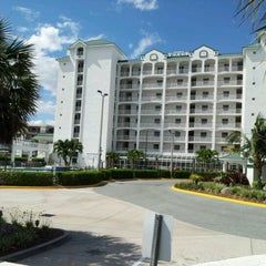 Photo taken at Resort on Cocoa Beach by Deborah G. on 4/22/2012