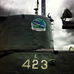 Photo taken at USS Torsk (SS-423) by Brian M. on 9/9/2012