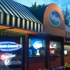 Photo taken at Halfway Cafe by Luke W. on 5/12/2012