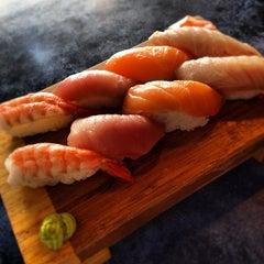 Photo taken at Tora Sushi by Billy H. on 4/2/2012