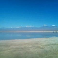 Photo taken at Laguna Cejar by Romina M. on 5/25/2012