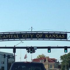 Photo taken at Downtown Topeka by Kristen M. on 7/22/2012
