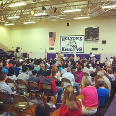 Photo taken at Holyoke High School by Christopher M. on 6/1/2012