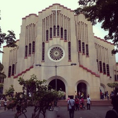Photo taken at National Shrine of Our Mother of Perpetual Help by Mark R. on 5/20/2012
