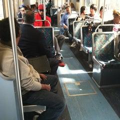 Photo taken at Pico (Chick Hearn) Metro Station by Erik S. on 3/28/2012