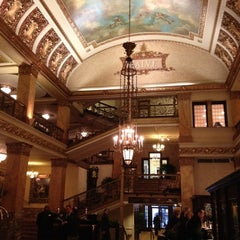Photo taken at The Pfister Hotel by Tim S. on 2/15/2012