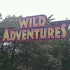 Photo taken at Wild Adventures Theme Park by Ryan V. on 8/11/2012