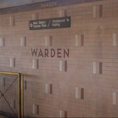 Photo taken at Warden Subway Station by Anthony F. on 8/25/2012