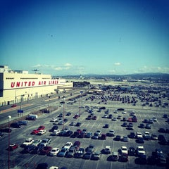 Photo taken at SFO Long Term Parking by Paul B. on 4/5/2012