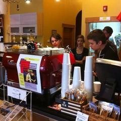 Photo taken at Bauhaus Kaffee by Josh F. on 3/7/2012