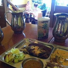 Photo taken at Beas Vegetarian Dhaba by Ondrej Z. on 6/22/2012