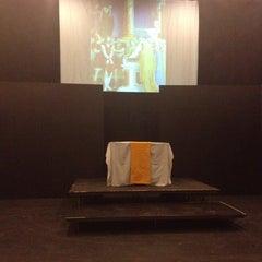 Photo taken at Little Center Theatre @ Clark University by Chelsea L. on 4/10/2012