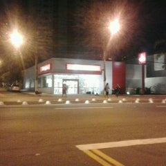Photo taken at Santander by Luiz Henrique S. on 5/29/2012