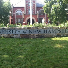 Photo taken at University of New Hampshire by Nick R. on 8/24/2012