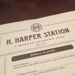 H. Harper Station corkage fee