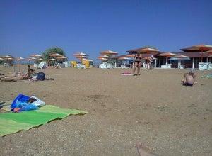 Пляж отеля Алые Паруса