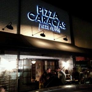 Pizza Caracas. Pizza-Caffe