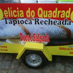 Delícia do Quadrado - Tapioca Recheada Da Elma
