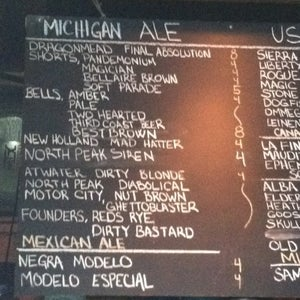 The 15 Best Places with Large Beer List in Detroit