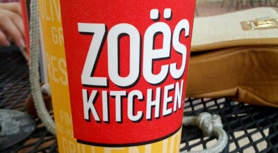 Photo of Mediterranean Restaurant Zoës Kitchen at 9 Du Rhu Dr, Mobile, AL 36608, United States
