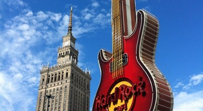 Photo of American Restaurant Hard Rock Cafe Warsaw at Złota 59, Warszawa 00-120, Poland