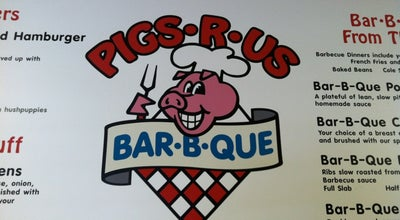 Photo of BBQ Joint Pigs R Us at 1014 Liberty St, Martinsville, VA 24112, United States