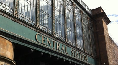 Photo of Train Station Glasgow Central Railway Station (GLC) at Gordon St, Glasgow G1 3SL, United Kingdom