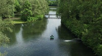 Photo of Lake Rheinauensee at Freizeitpark Rheinaue, Bonn 53175, Germany