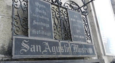 Photo of Monument / Landmark San Agustin Museum at Philippines