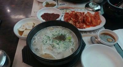 Photo of Korean Restaurant 팔복도가니탕 at 서하남로 24, 하남시 465-819, South Korea