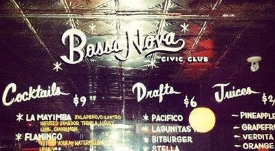 Photo of Bar Bossa Nova Civic Club at 1271 Myrtle Ave, Brooklyn, NY 11221, United States