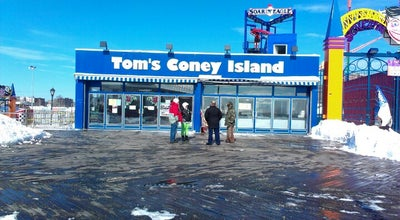 Photo of American Restaurant Tom's Coney Island at Boardwalk W, Brooklyn, NY 11214, United States