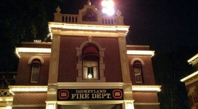 Photo of Historic Site Disneyland Fire Dept. 105 at Anaheim, CA 92802, United States