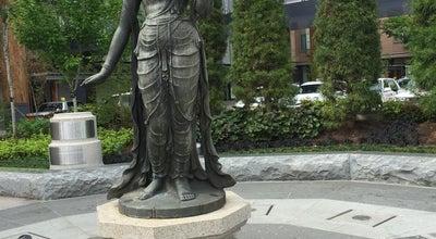 Photo of Monument / Landmark 如是姫像 at 南長野1147付近, 長野市, Japan