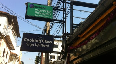 Photo of Vegetarian / Vegan Restaurant May Kaidee Restaurant & Cooking School - Bangkok at 59 Tanao Road, Bangkok, Thailand
