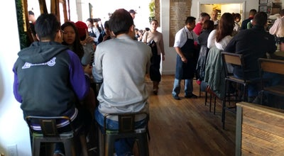 Photo of New American Restaurant Kitchen Step at 500 Jersey Ave, Jersey City, NJ 07302, United States