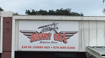 Photo of Diner Runway Cafe at 7915 Airport Way, Angleton, TX 77515, United States