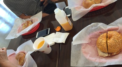 Photo of Bagel Shop Bagel World Café at 5240 N Atlantic Ave, Cocoa Beach, FL 32931, United States