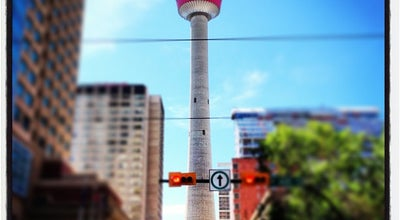 Photo of Monument / Landmark Calgary Tower at 101 9th Avenue Sw, Calgary, AB T2P 1J9, Canada