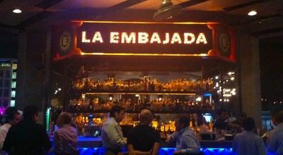 Photo of Mexican Restaurant La Embajada at Main Entrance, Garza García, NLE 64000, Mexico