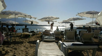 Photo of Beach Girne Kervansaray Plajı at Cyprus