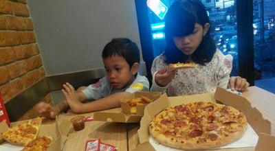 Photo of Pizza Place Domino Pizza Cibubur at Jl. Transyogi Raya, Jakarta Timur, Indonesia