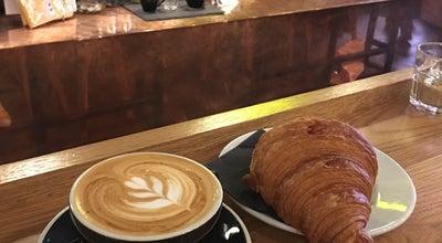 Photo of Coffee Shop Kaffeine at 15 Eastcastle St, London W1T 3AY, United Kingdom