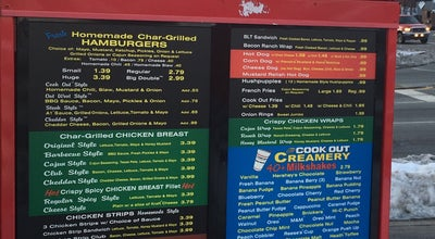 Photo of Fast Food Restaurant Cook Out at 2601 Randleman Rd, Greensboro, NC 27406, United States