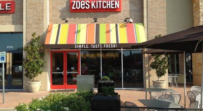 Photo of Mediterranean Restaurant Zoës Kitchen at 5717 Legacy Dr, Plano, TX 75024, United States
