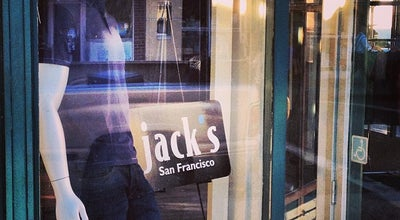 Photo of Men's Store Jack's on Chestnut at 2260 Chestnut St, San Francisco, CA 94123, United States