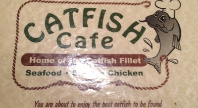 Photo of Fish and Chips Shop Catfish Cafe at 1820 S Main St, Jonesboro, AR 72401, United States