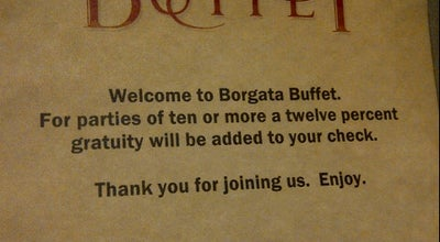 Photo of Buffet Borgata Buffet at 1 Borgata Way, Atlantic City, NJ 08401, United States