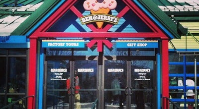 Photo of Factory Ben & Jerry's Factory at 1281 Waterbury Stowe Rd, Waterbury, VT 05676, United States